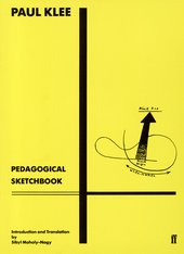 Klee Pedagogical Sketchbook Cover BLOG 2014