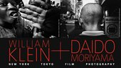 William Klein + Daido Moriyama exhibition banner