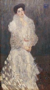Gustav Klimt Portrait of Hermine Gallia 1904