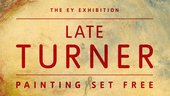 late turner painting set free written in red font all caps