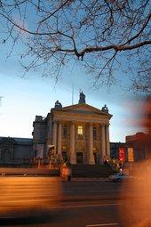 Tate Britain at night