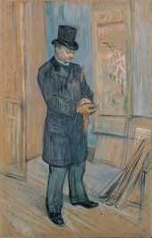 Henri de Toulouse-Lautrec Portrait of Dr Henri Bourges 1891 Oil on cardboard mounted on panel