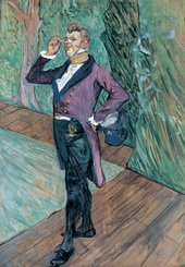 Henri de Toulouse-Lautrec Monsieur Samary, of the Comédie Française 1889 Essence on cardboard
