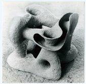 Lech Tomaszewski Boomenrang 1962 clay sculpture