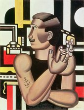 Fernand Léger - The Mechanic 1920