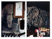 Lena Amuat Carol Rama's home and studio in Turin 2010 two
