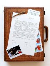 Simon Fujiwara Letter from Mexico (Briefcase) 2010