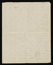 Letter from Paul Nash to Margaret Nash written from France while on commission to make drawings at the Front as a war artist 13 November 1917