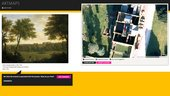 Art Maps designing the interface