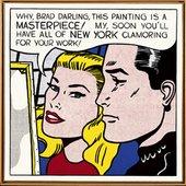 Roy Lichtenstein, Masterpiece 1962.  Private collection