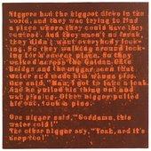 Glenn Ligon, Mudbone (Liar) 3 1993