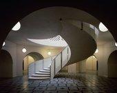 Lower Rotunda staircase in Tate Britain
