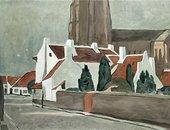 Luc Tuymans Flemish Village 1995