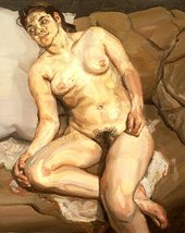 Lucian Freud Esther 1980