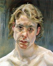 Lucian Freud Head of a Naked Girl 1999-2000