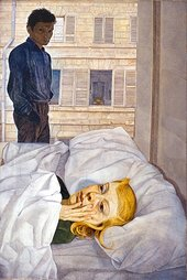 Lucian Freud Hotel Bedroom 1954