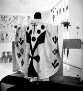 Henri Matisse Vence Chapel Chasuble white