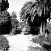 Matisse in the garden at Villa le Reve