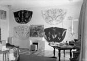Henri Matisse's Chasubles for the Vence chapel with Picasso's painting Vallauris Landscape, 1951