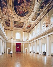 Main hall of the Banqueting House, London
