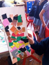Make+Paint after-school club show off their Matisse-inspired collages