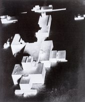 Photograph of one of Kazimir Malevich's architectons, Beta c1920