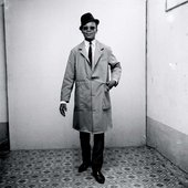 Malick Sidibé Man in Business-dress, like a pedestrian 1964