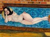 Sylvia Sleigh, Eleanor Antin 1968, Oil on canvas, 114.3x152.4cm