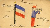 Marcel Duchamp French Flag, French Soldier 1894