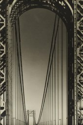 Margaret Bourke-White George Washington Bridge 1933 The Sir Elton John Photographic Collection © Estate of Margaret Bourke-White/Licensed by VAGA, New York, NY