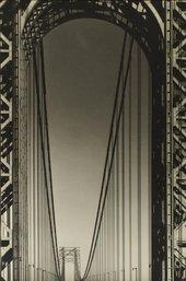 Margaret Bourke-White George Washington Bridge 1933 The Sir Elton John Photographic Collection © Estate of Margaret Bourke-White/Licensed by VAGA, New York, NY