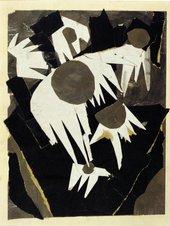 Margit Téry-Adler Composition study, Carline Thistle, c.1920
