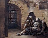 Maria Cosway Prison Scene circa 1785-1800