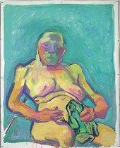 Maria Lassnig, Frog Princess, 2000