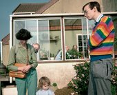 Martin Parr ENGLAND. Garden Open Day from The Cost of Living 1986–9