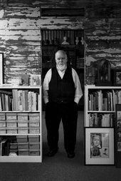 Mary McCartney Portrait of Peter Blake in his studio Photograph
