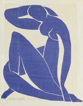 Henri Matisse Blue Nude (II) 1952