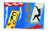 Henri Matisse, The Circus. Maquette for plate II - Jazz, 1946