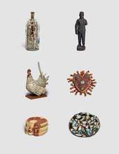 Various objects from British Folk Art
