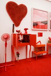 Cildo Meireles Red Shift I: Impregnation (detail) 1967-1984