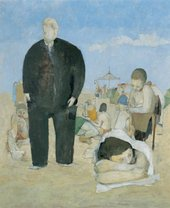 Michael Andrews People on the Beach (August for the People) 1951