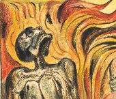 William Blake  Detail of Plate 10 from 'The First Book of Urizen'