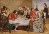 John Everett Millais Lorenzo and Isabella 1848–9