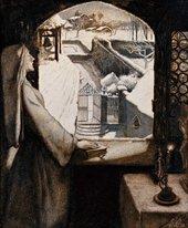 John Everett Millais St Agnes's Eve 1854