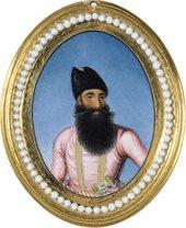 Miniature portrait Abbas Mirza