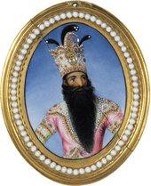 Miniature portrait Fath Ali Shah