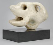 Henry Moore Animal Head 1951