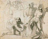 John Hamilton Mortimer Martyrdom of St Erasmus circa 1770-1775