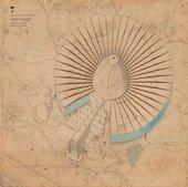 Paul Nelson's aerial perspective drawing for the unrealised Palais de la Découverte project, Paris