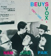Cover of the catalogue for Nam June Paiks Beuys Voice shown at documenta 8 1987